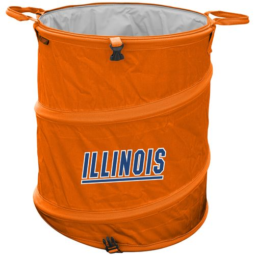 Logo™ University of Illinois Collapsible 3-in-1 Cooler/Hamper/Wastebasket