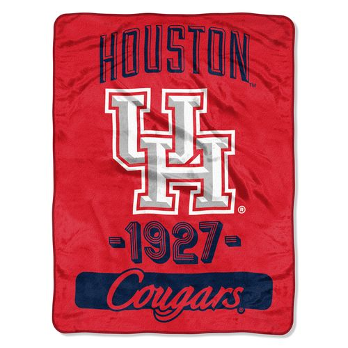 The Northwest Company University of Houston Micro Raschel Throw