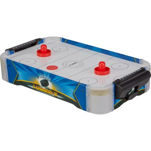 Display product reviews for Triumph Sports USA Lumen-X Light Up Tabletop Air Hockey Table