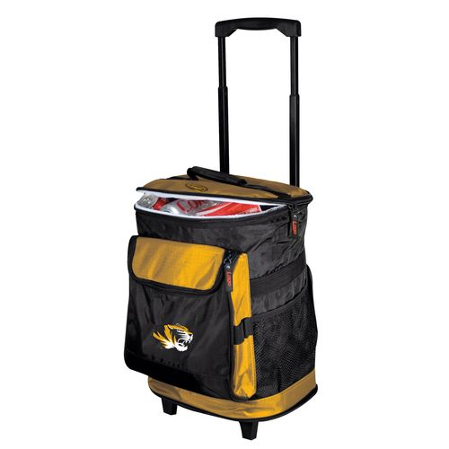 Logo™ University of Missouri 48-Can Rolling Cooler - view number 1