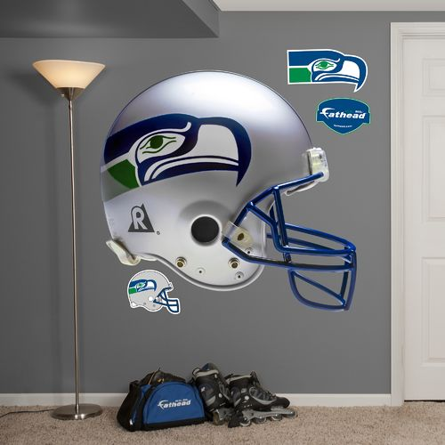 Fathead Seattle Seahawks Real Big Throwback Helmet Decal