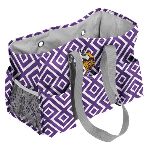 Logo™ Minnesota Vikings DD Junior Caddy Tote Bag