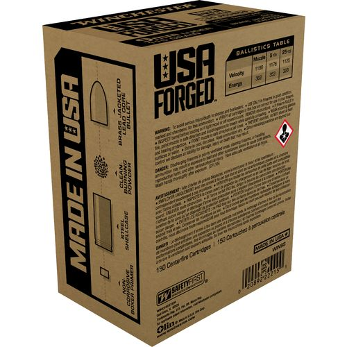 Winchester USA Forged 9mm Luger 115-Grain Handgun Ammunition - view number 2