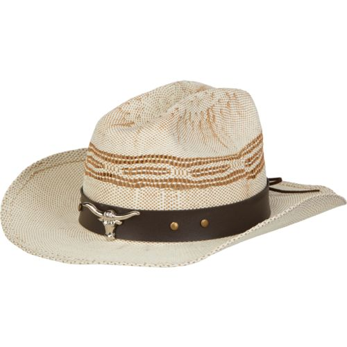 O'Rageous Boys' Cowboy Hat with Longhorn Band