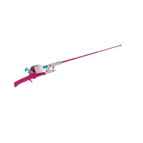 "Hello Kitty Lil' Anglers No Tangle Telescopic 29.5"" Freshwater Spincast Rod and Reel Combo"