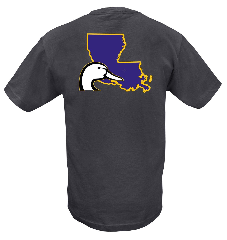 Ducks Unlimited Adults' Louisiana Logo T-shirt