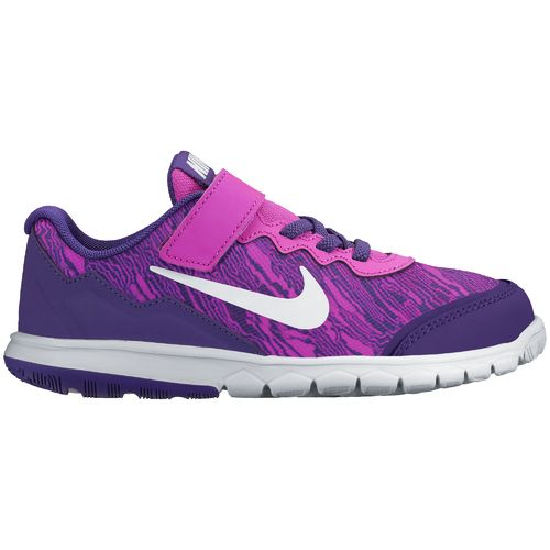 Nike Girls' Flex Experience 4 Print Running Shoes