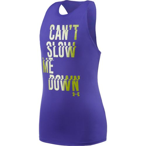Under Armour™ Girls' Can't Slow Me Down Tank Top