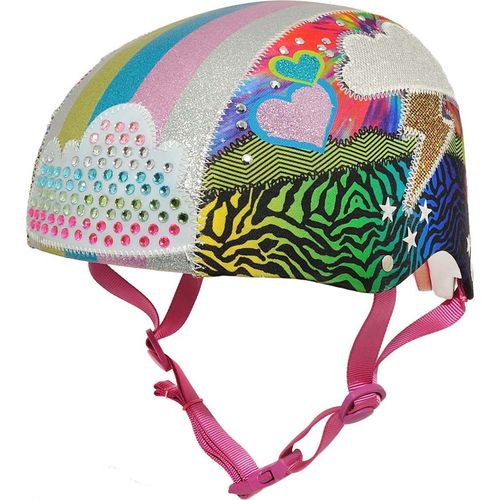 Raskullz Girls' Sparklez Loud Cloud Youth Bike Helmet