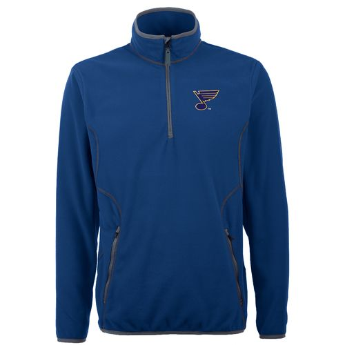 Antigua Men's St. Louis Blues Ice 1/4 Zip Pullover