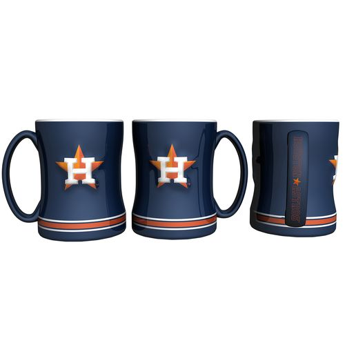 Boelter Brands Houston Astros 14 oz. Relief Coffee Mugs 2-Pack