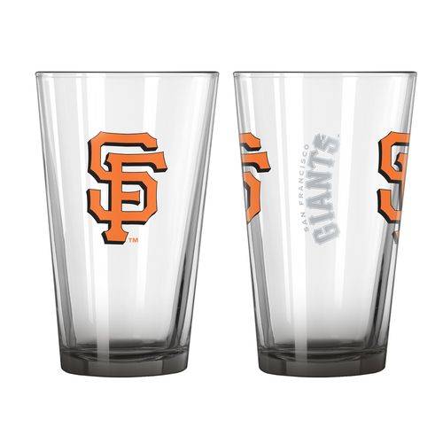 Boelter Brands San Francisco Giants Elite 16 oz. Pint Glasses 2-Pack - view number 1