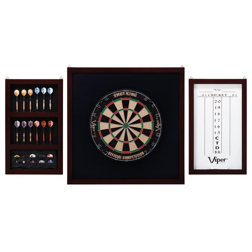 Viper Championship Dartboard Backboard Set