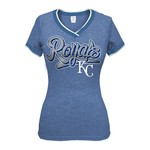 5th & Ocean Clothing Juniors' Kansas City Royals Triblend T-shirt