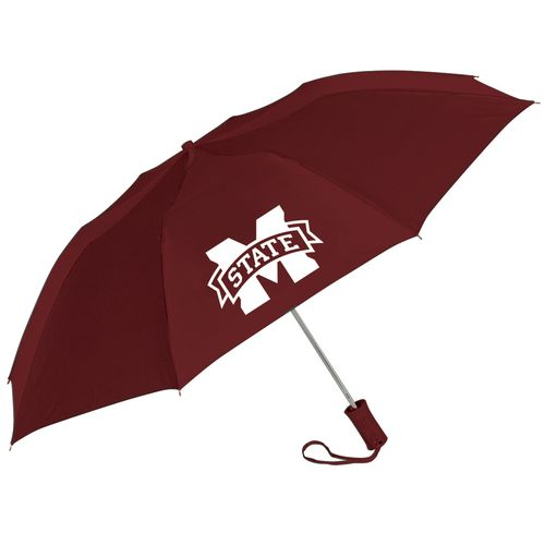 "Storm Duds Mississippi State University 42"" Automatic Folding Umbrella"