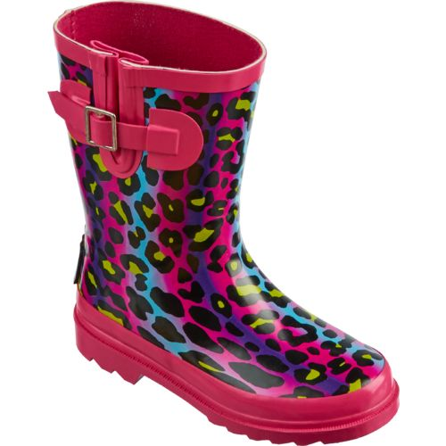 Austin Trading Co.™ Girls' Ombré Cheetah Rubber Boots - view number 2