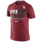 Nike Boys' University of Oklahoma Own the Playoff T-shirt