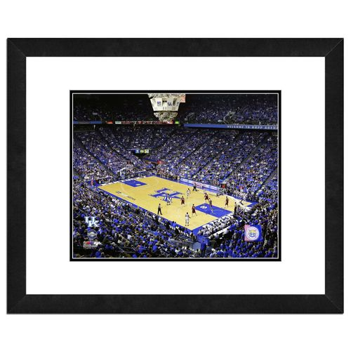 "Photo File University of Kentucky Rupp Arena 16"" x 20"" Matted and Framed Photo"