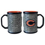 Boelter Brands Chicago Bears Stone Wall 15 oz. Coffee Mugs 2-Pack