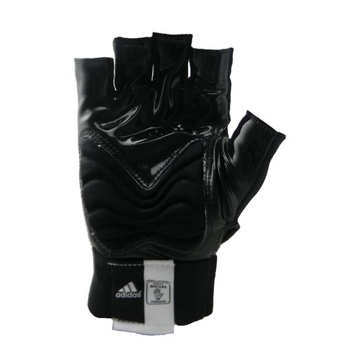 adidas Juniors' Techfit 1/2 Finger Lineman Football Gloves - view number 2