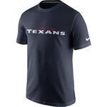 Nike Men's Houston Texans Cotton Essential Wordmark T-shirt