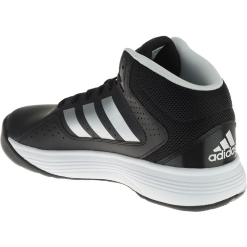 adidas Men's cloudfoam Ilation Mid - Wide Basketball Shoes - view number 3