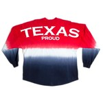 Above Wings™ Adults' Wing Back™ Texas Proud Long Sleeve Shirt