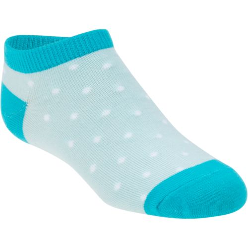 BCG Girls' No-Show Fashion Socks 6 Pairs