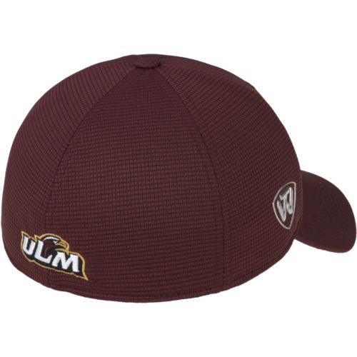 Top of the World Men's University of Louisiana at Monroe Booster Plus Cap - view number 2
