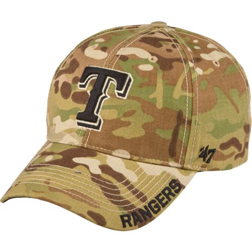 Display product reviews for '47 Texas Rangers Camo Myers MVP Cap