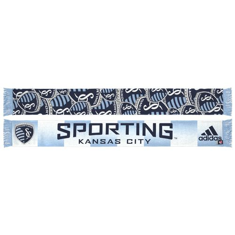 adidas™ Men's Sporting Kansas City Team Slogan Jacquard
