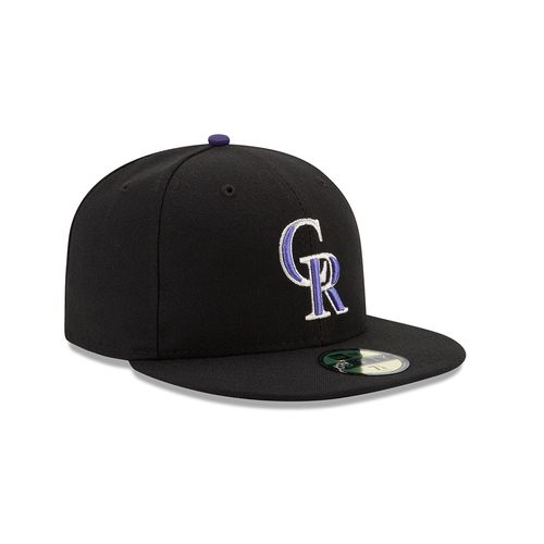 New Era Men's Colorado Rockies 2016 59FIFTY Cap - view number 3