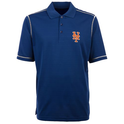Antigua Men's New York Mets Icon Piqué Polo Shirt
