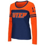 Colosseum Athletics™ Women's University of Texas at El Paso Hornet Football Long Sleeve T-s