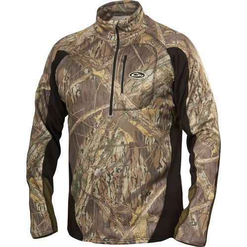 Drake Waterfowl Men's Tri-Tec Performance Base Layer Quarter Zip Jacket