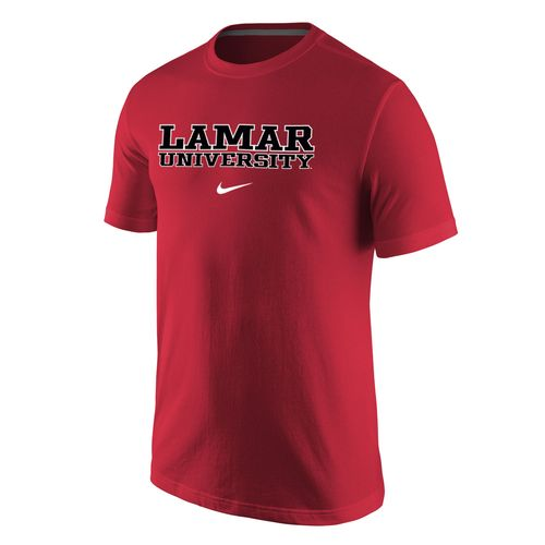Nike™ Men's Lamar University Wordmark T-shirt