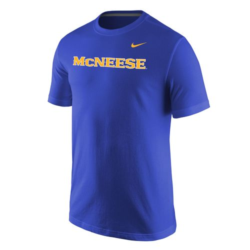 Nike™ Men's McNeese State University Wordmark T-shirt - view number 1