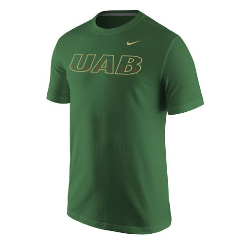 Nike Men's University of Alabama at Birmingham Wordmark T-shirt