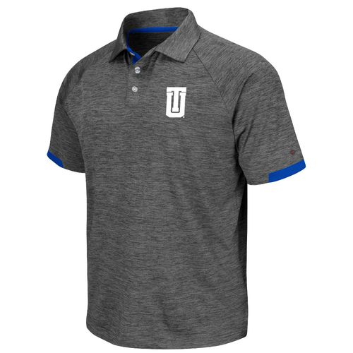 Colosseum Athletics Men's University of Tulsa Spiral Polo Shirt