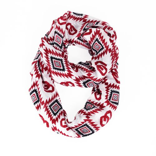 ZooZatz Women's University of Oklahoma Southwest Infinity Scarf