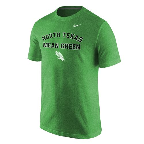Nike™ Men's University of North Texas Triblend Short Sleeve T-shirt