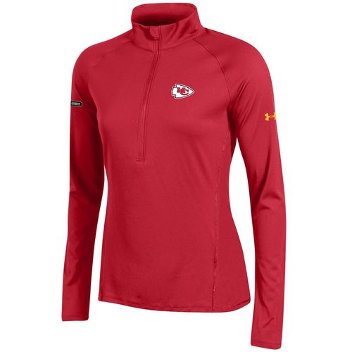 Under Armour™ NFL Combine Authentic Women's Kansas City Chiefs Tech 1/4 Zip Pullover
