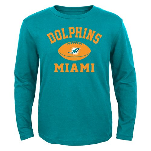 Display product reviews for NFL Boys' Miami Dolphins Long Sleeve T-shirt