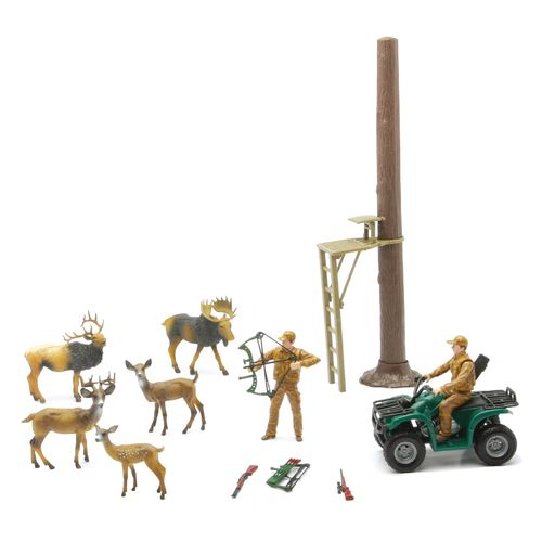 New-Ray Toys Hunting and Fishing Playset Assortment - view number 3