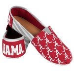 Forever Collectibles™ Women's University of Alabama Canvas Stripe Shoes