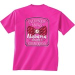 New World Graphics Women's University of Alabama BCA Ribbon T-shirt