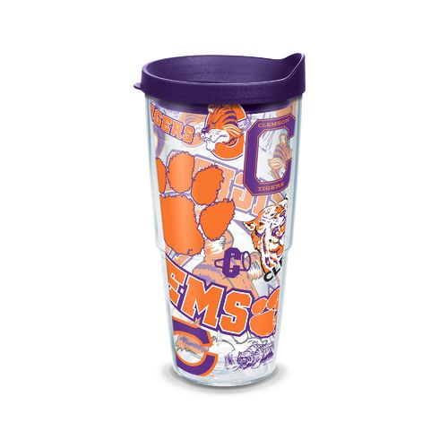 Tervis NCAA Clemson University Allover 24 oz. Tumbler