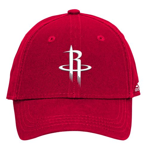 adidas Boys' Houston Rockets Solid Basic Structured Cap