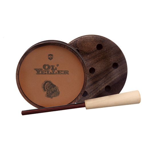 Knight & Hale Ol' Yeller Ceramic Pot Turkey Call - view number 1