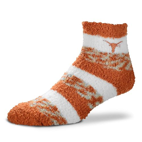 FBF Originals Women's University of Texas Pro Stripe Sleep Soft Socks